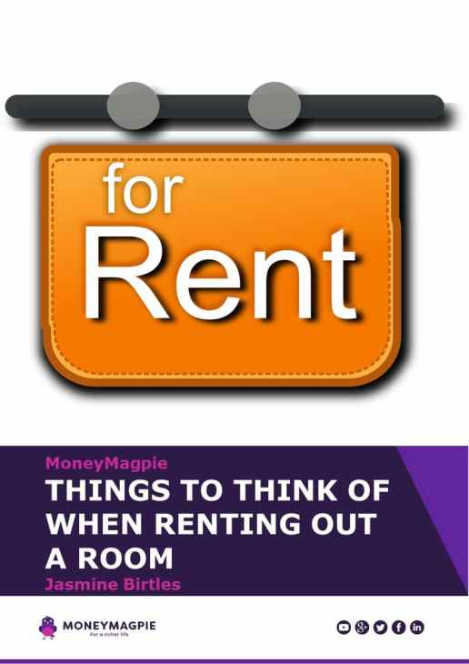 MoneyMagpie_Renting Out a Room