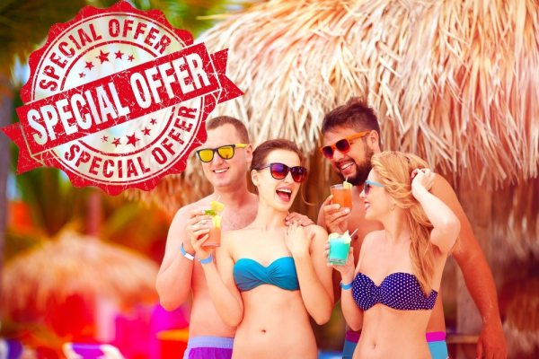 Special offer holiday