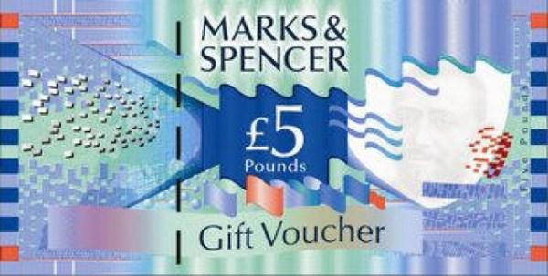 M&S gift voucher