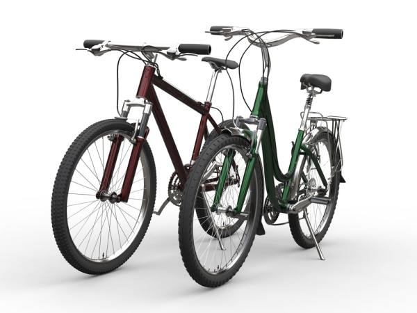 Different bike styles