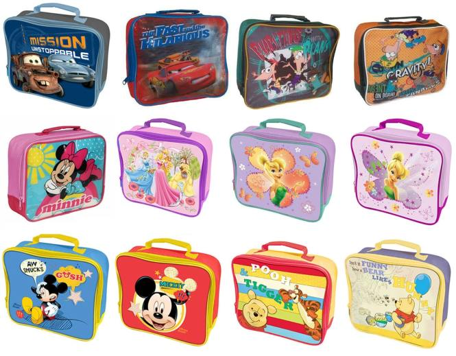Childresn Disney Cartoon Lunch Boxes