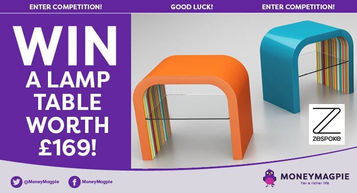 Competition win a lamp table