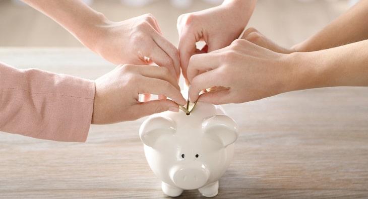 Family piggy bank