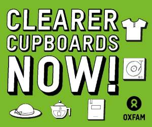 Clear Your Clutter - Donate to Oxfam