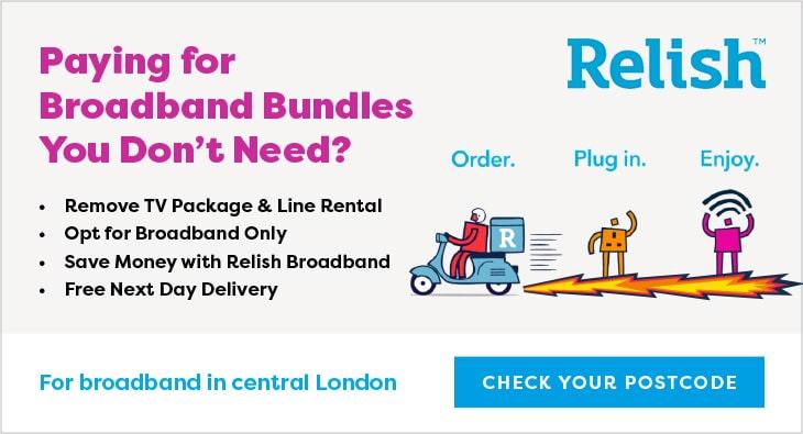Relish-Home_Broadband London