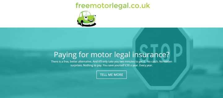 Free Motor Legal Banner