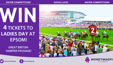 Win 4 tickets to Ladies Day at Epsom
