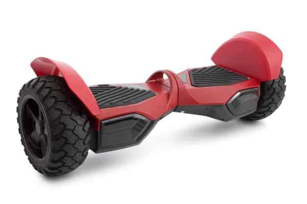 Hoverboard with heavy duty wheels