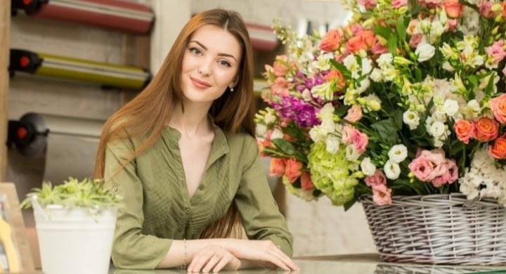 New flower shop owner