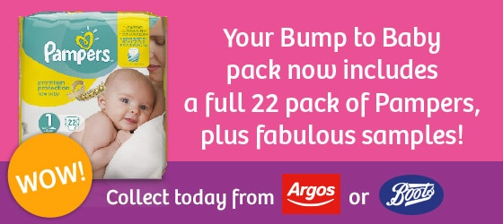 Emma's Diary Bump To Baby Pack Banner