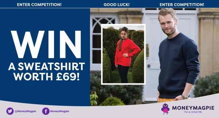 Win a sweatshirt worth £69