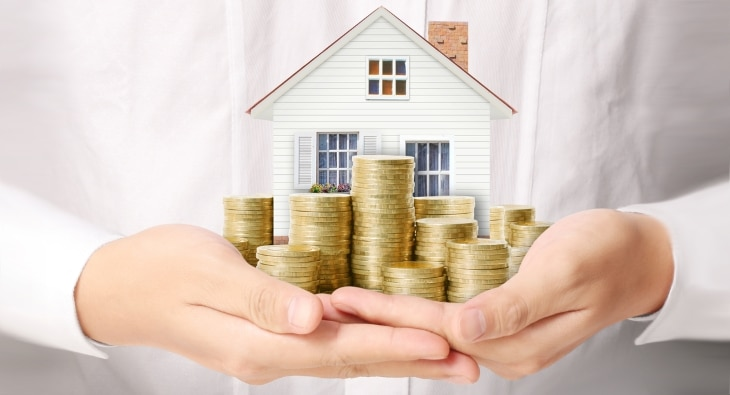 Increasing your monthly payments means you can pay your mortgage off early