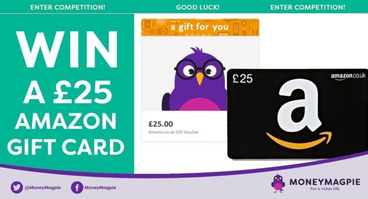 Win a £25 Amazon Voucher gift card