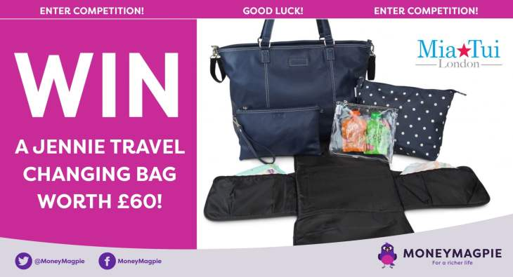 Win a Jennie Travel Changing Bag worth £60