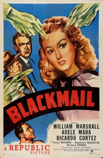 Blackmail film poster