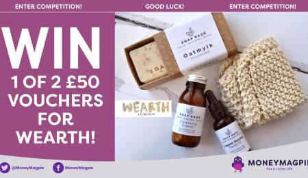 Win 1 of 2 £50 vouchers for Wearth
