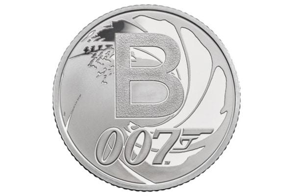 James Bond coin