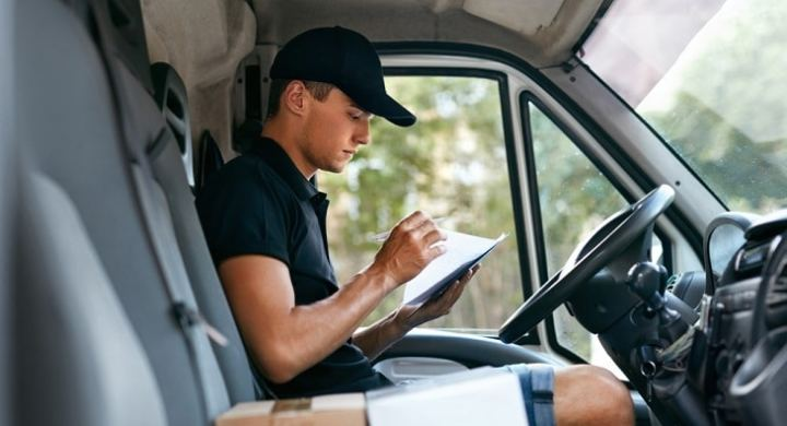 Update your car insurance as a delivery driver