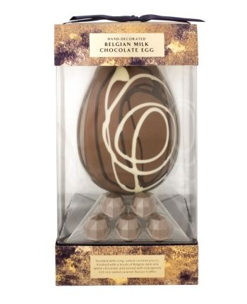 Easter Eggs - ASDA_Extra Special Hand-Finished Belgian Milk Chocolate Egg with Salted Caramel
