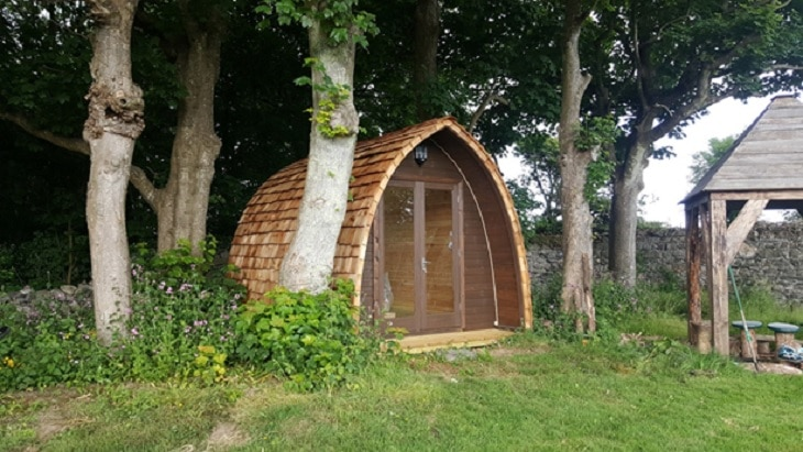 Garden office - The professional way of working from home