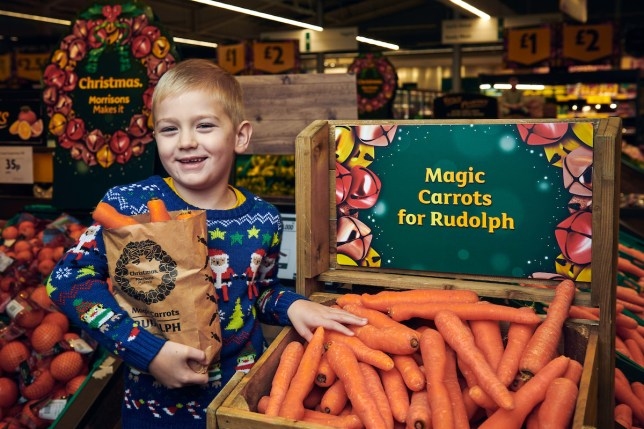 free carrots at morrisons