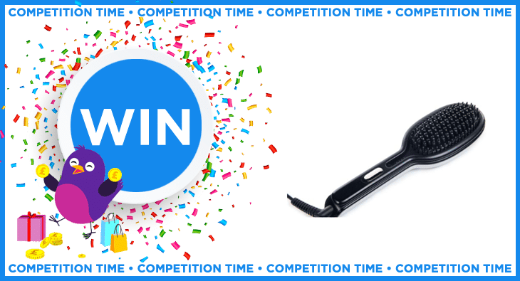 Win a InStyler GLOSSIE Ceramic Styling Brush worth £79.99
