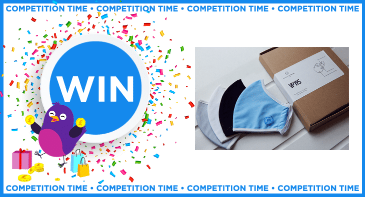 Win a 4-pack of the VP195 face mask from Oceanview Masks worth over £60!