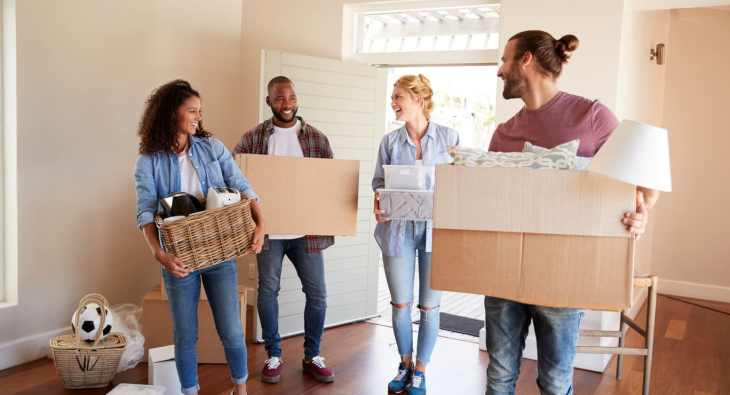 Get on the property ladder by buying a house with friends