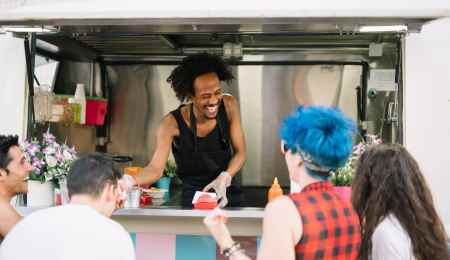 Make money with a food truck business