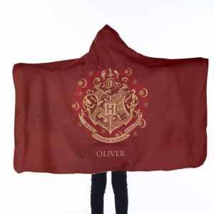 Harry Potter Hooded Blanket