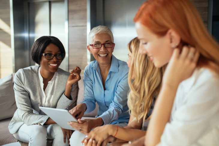 Women entrepreneurs benefit from networking groups