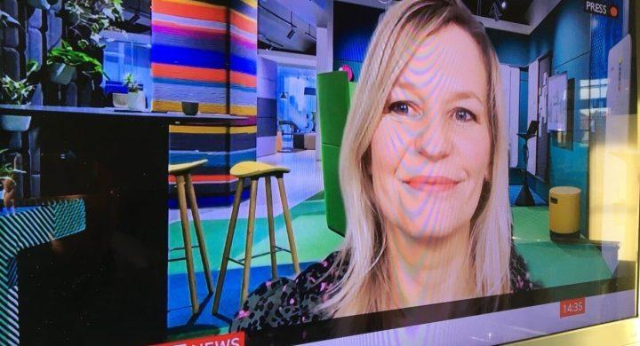 Jasmine was on BBC this week!