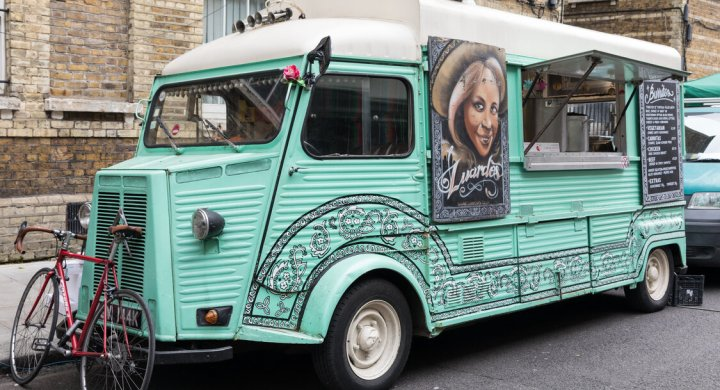 Make money with coffee with a van