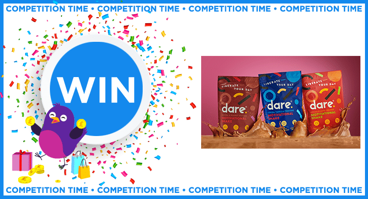 WIN A MOTIVATIONAL SHAKE BUNDLE FROM DARE MOTIVATION