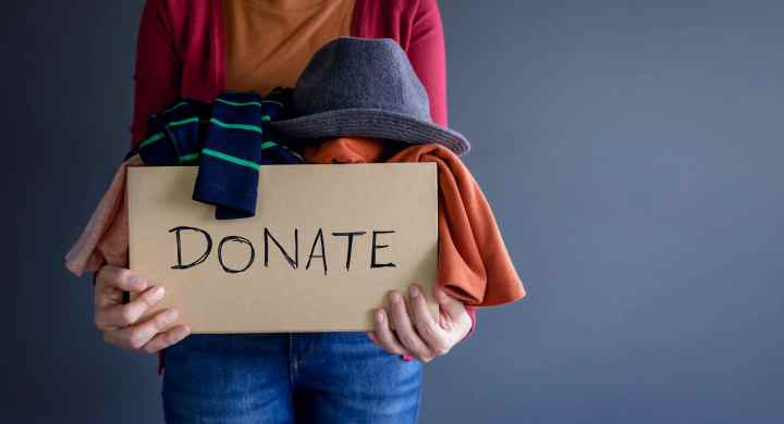 Clear clutter and do good by donating your stuff to charity