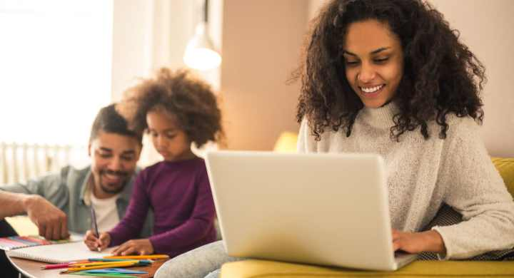 Part-time, home working, or freelance work help you get back to work after parental leave.