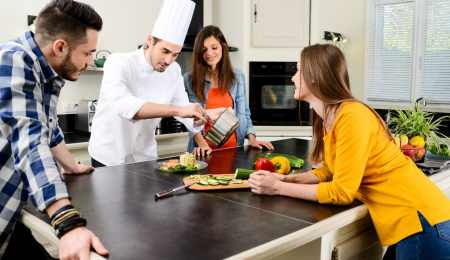 Make money with a private dining business