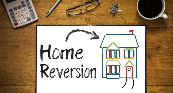 Home reversion is different to using equity release to pay off your debts