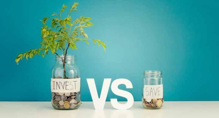 Investing versus saving