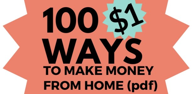 100 Ways to Make Money From Home (PDF)
