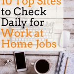 10 Top Sites to Check Daily for Work at Home Jobs