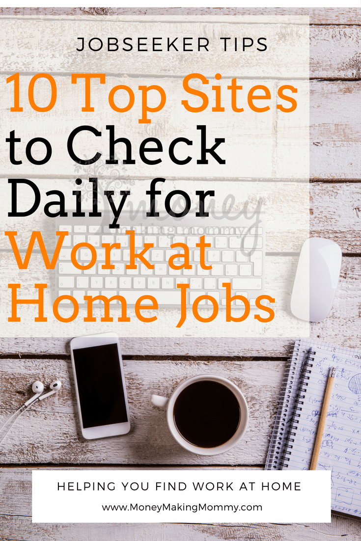 10 Top Sites to Check for Work at Home