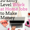 20 Entry Level Work at Home Jobs