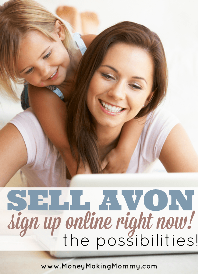 Selling Avon - Online Sign Up