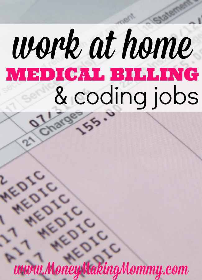Medical Billing and Coding Jobs That Allow You To Work at Home