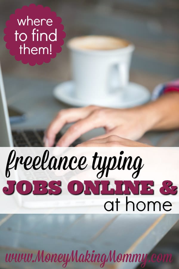 Freelance Typing Jobs - Where to Find Them