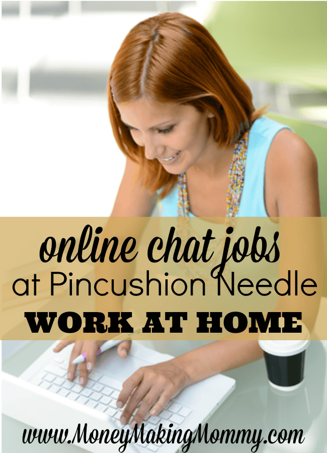 online chat jobs from home real