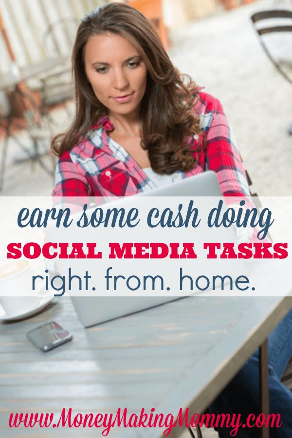 Earn Cash Doing Social Media Tasks