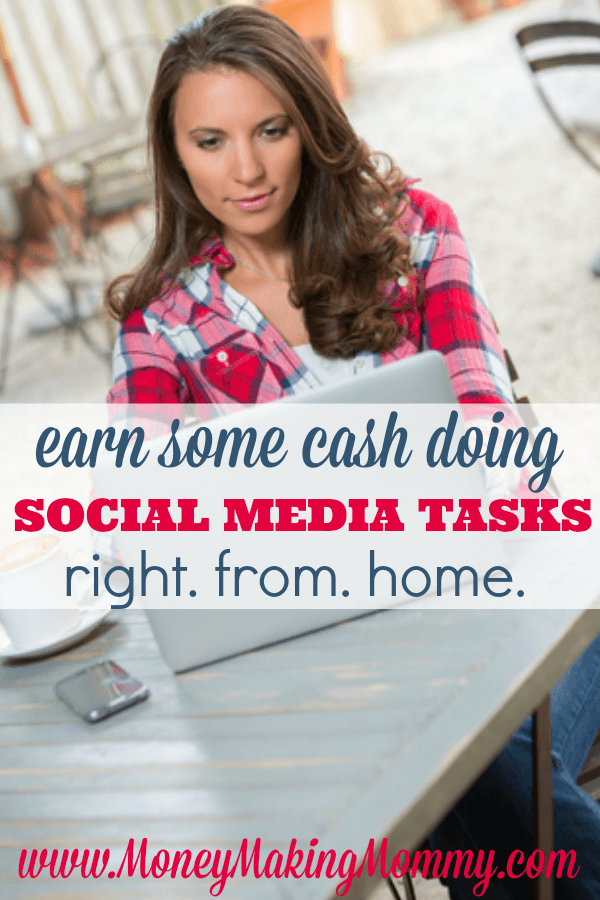 Earn Cash Doing Social Media Tasks