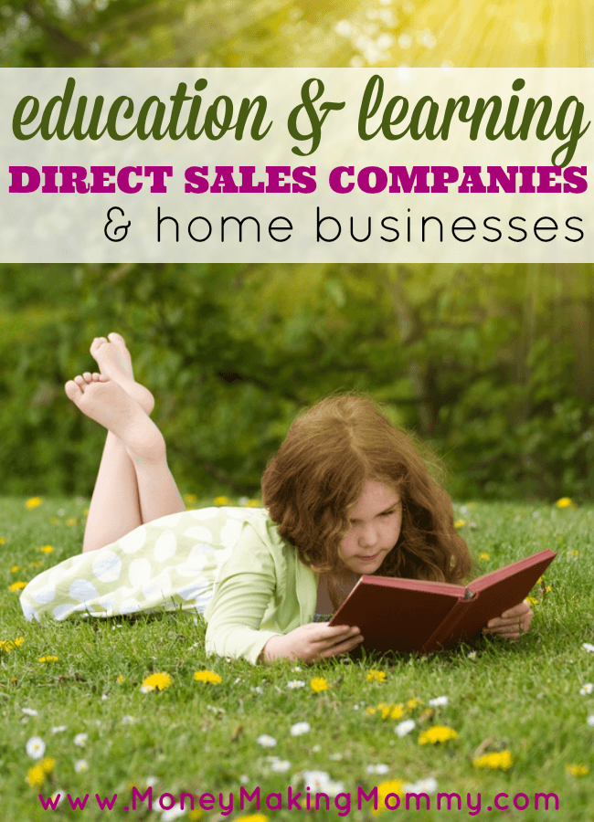 Education and Learning Direct Sales Companies